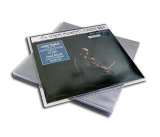 LP protective sleeves made from PVC