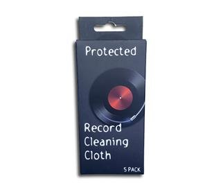 Record cleaning wipe