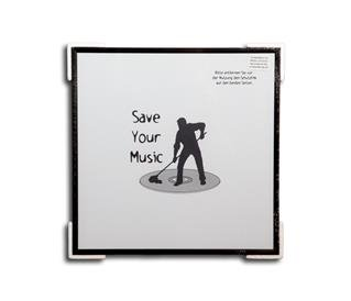 LP cover picture frame