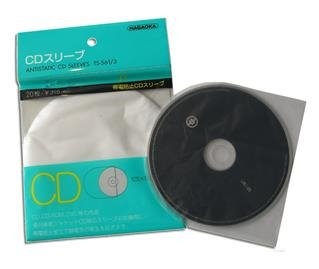 CD protective sleeves produced by NAGAOKA Japan