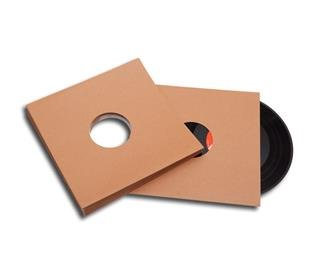 25cm/10inch record cover brown cardboard