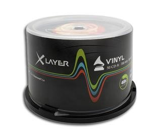 CD-R 80 xlayer 48x Vinyl Look 50er cake