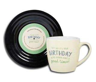 "Tassen-Set ""Lyrical Mug"" Birthday"