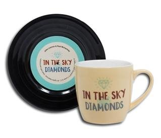 "Tassen-Set ""Lyrical Mug"" Diamonds"