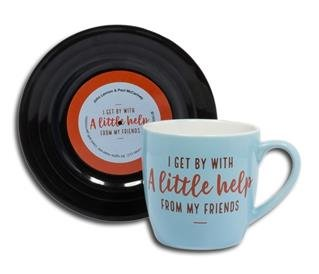 "Tassen-Set ""Lyrical Mug"" Friends 1"