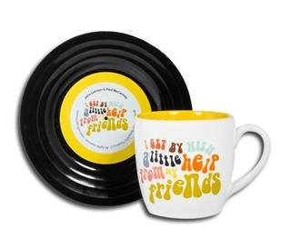 Coffee mug Wired yellow