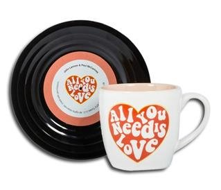"Tassen-Set ""Lyrical Mug"" Love"