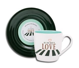 "Tassen-Set ""Lyrical Mug"" Love 2"