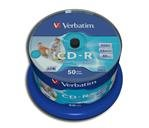 CD-R 80 Verbatim CD-R DLP print 50-unit cake